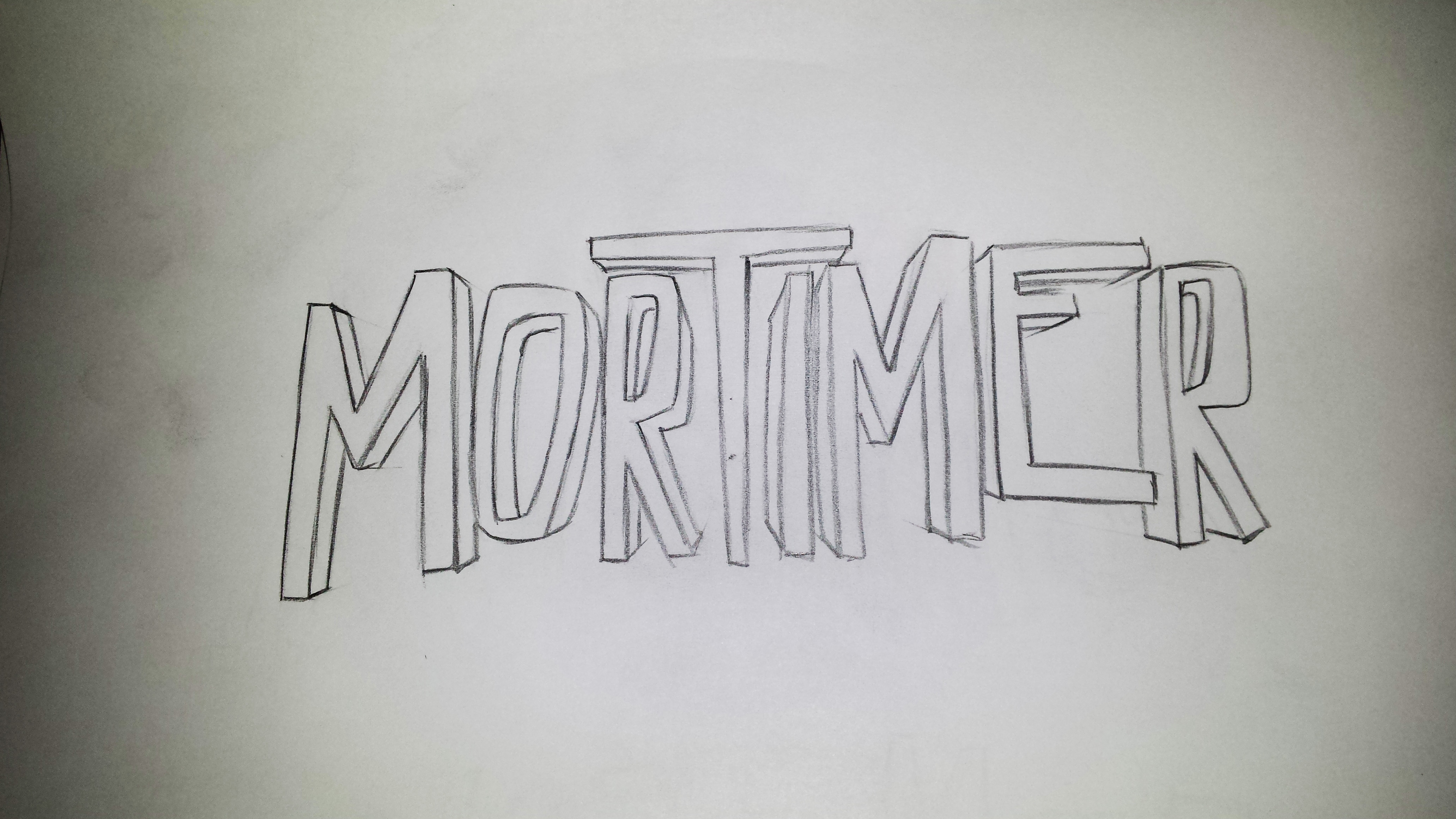 Mortimer Typo scribble